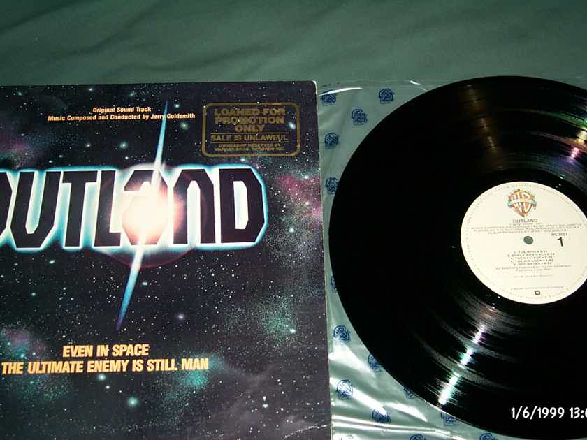 Soundtrack - Outland Warner Brothers Records Promo LP NM Quiex Audiophile Vinyl