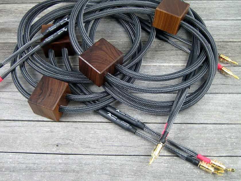 Avanti Audio Allegro Speaker Cables - 10ft with ViaBlue Hollow Bananas & Spades