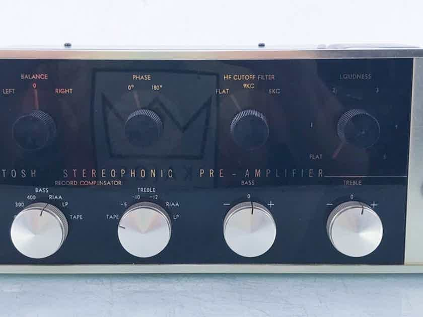 McIntosh C20 Vintage Stereo Tube Preamplifier MM Phono (14429)