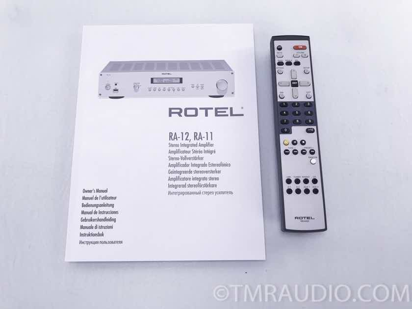 Rotel  RA-12 Stereo Integrated Amplifier; Black (3609)