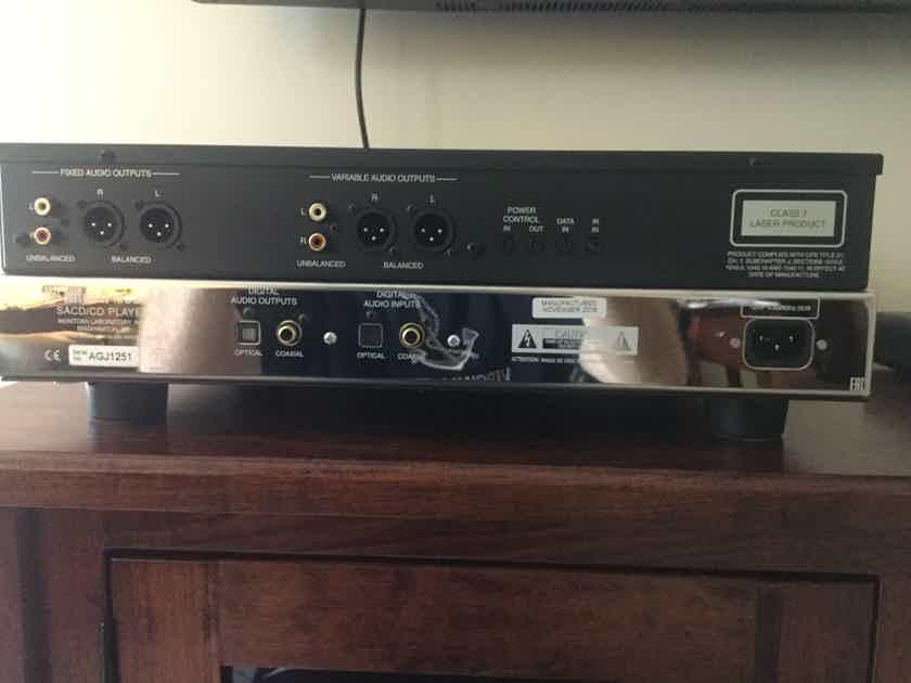McIntosh MCD-600 SACD/CD/Digital Preamp, Mac's Newest