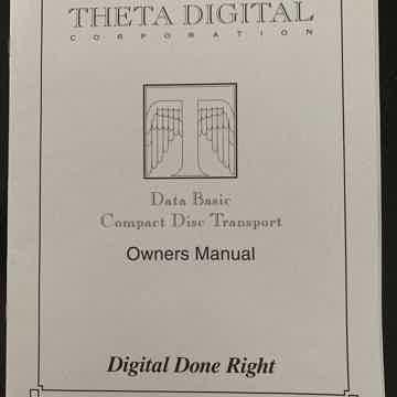 Theta Digital Data Basic