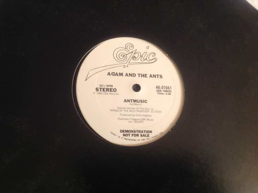 Adam And The Ants Antmusic/Don't Be Square (Be There) Epic Records Promo 12 Inch