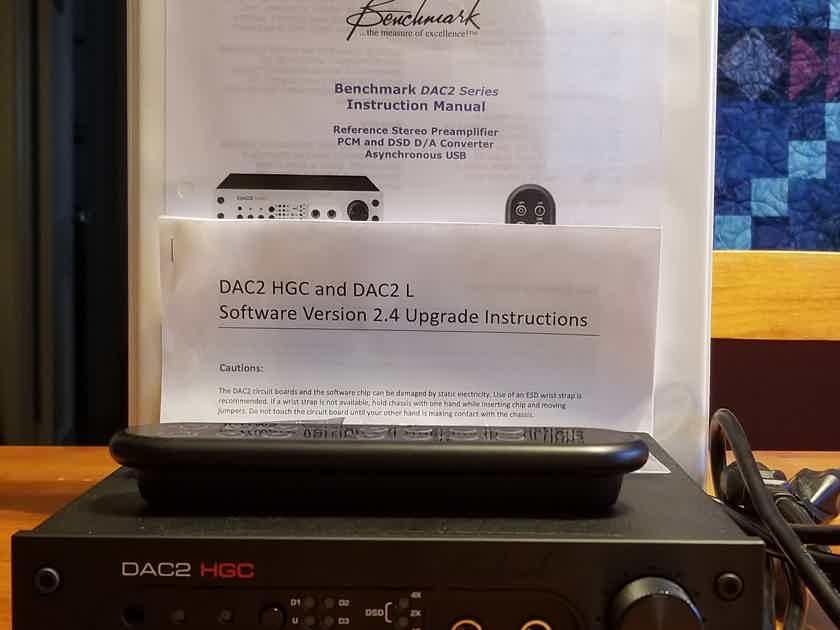 Benchmark DAC2 HGC w/ new 2.4 firmware, remote