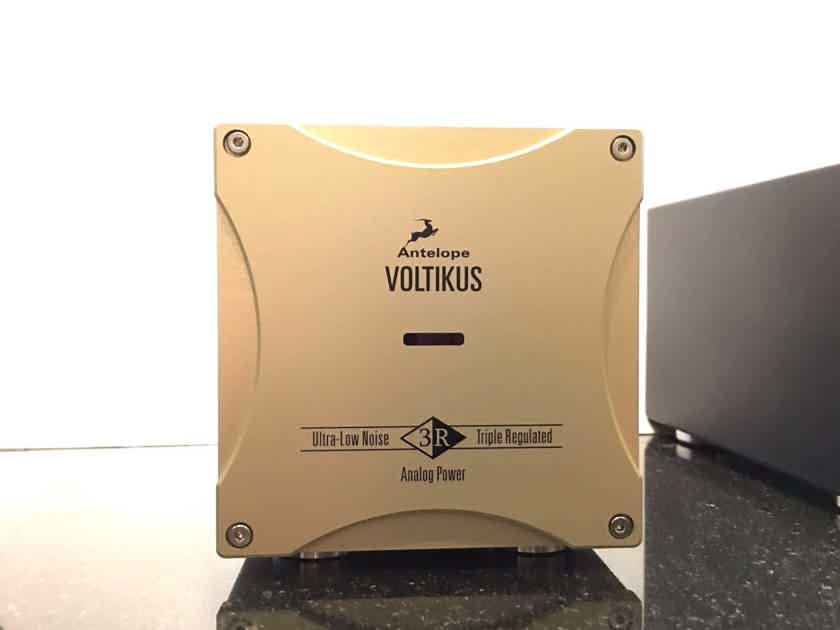 Antelope Audio Zodiac Gold DAC w/ Voltikus Power Supply ~ Excellent Condition