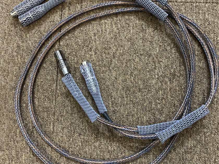 Ansuz D version 1  XLR 2 meters length x 2
