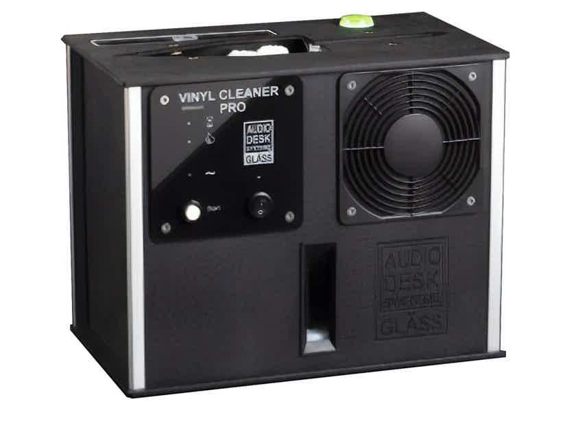 Audio Desk Systeme Vinyl Cleaner Pro Record Cleaner; Black (New) (26970)