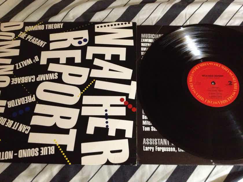 Weather Report - Domino Theory Columbia Records Vinyl  LP NM