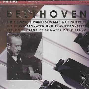 Beethoven Sonatas & Concertos (Complete) Claudio Arrau