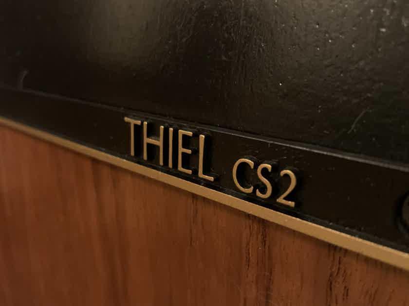 Thiel CS2 Speakers (Near Mint, with Original Documents)