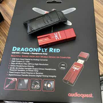 AudioQuest Dragonfly Red - MQA Enabled
