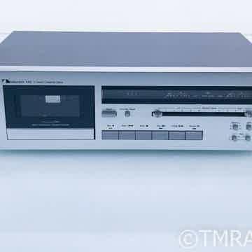 Nakamichi 480 2-Head Cassette Deck