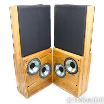 Infinity RS-4.5 Vintage Floorstanding Speakers; Oak Pai...