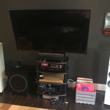 Elac UF5 Slim Satin White Tower Speakers + Elac Debut s...