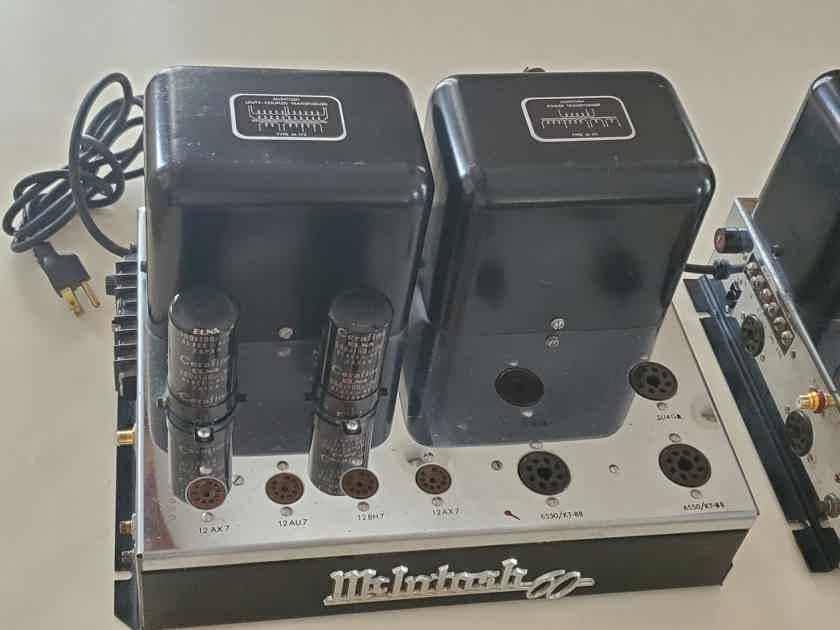 Pair of McIntosh MC-60 Audio Engineer Owned, Rebuilt, upgraded!