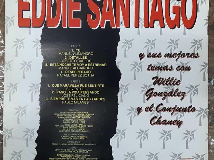 Eddie Santiago - El Romantico De La Salsa EX+ Vinyl LP Venezuela Tucan Records LPT-1036