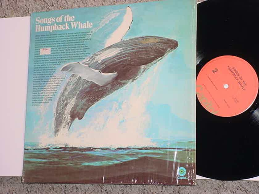 Songs of the Humpback Whale lp record in shrink CAPITOL ST-620