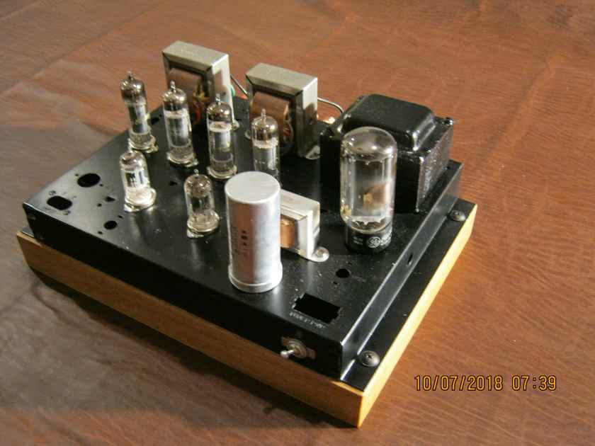 Magnavox 9302 Push Pull Tube Amp / Cardas,, Vampire, NOS tubes