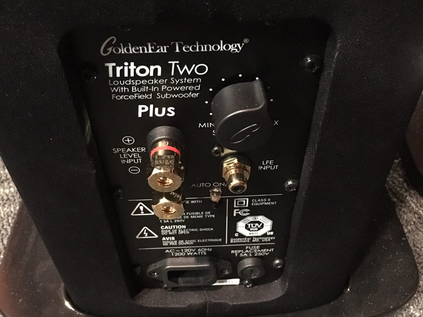 Golden Ear Technology Triton Two+ (Pair) **Trade-in**