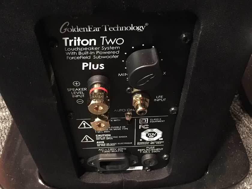 GoldenEar Technology Triton Two+ **Trade-in**