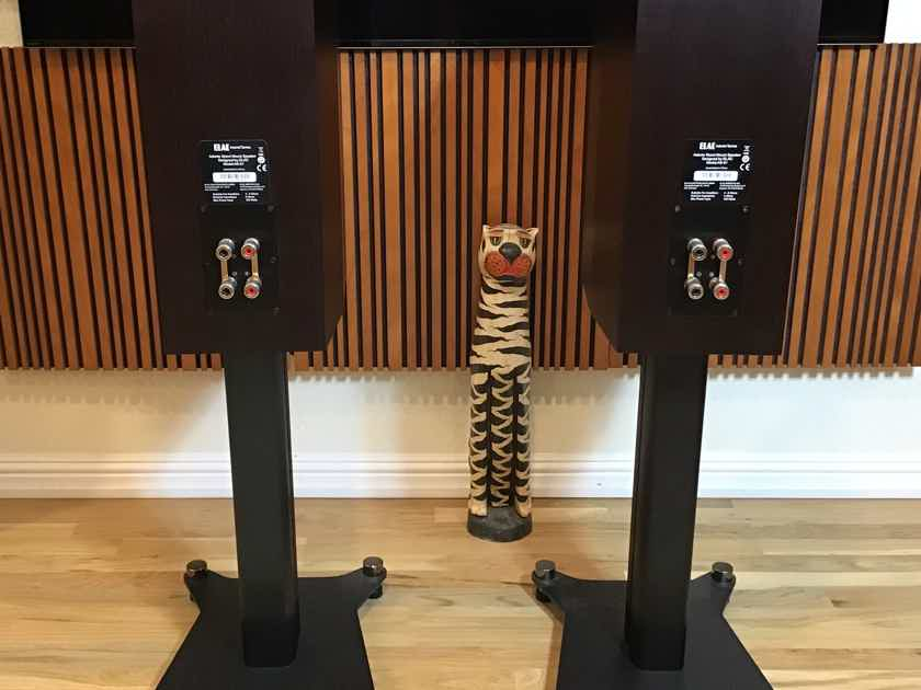 Elac Adante AS-61 standmount speakers, with stands