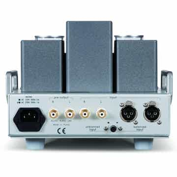 Allnic HPA-3000 GT Headphone amp (rear)