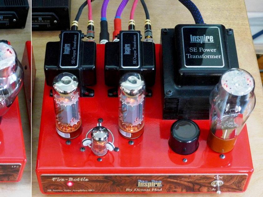 Dennis Had Inspire LP-2 Preamplifier, KT-150 Amplifier, Tubes Galore, & More!