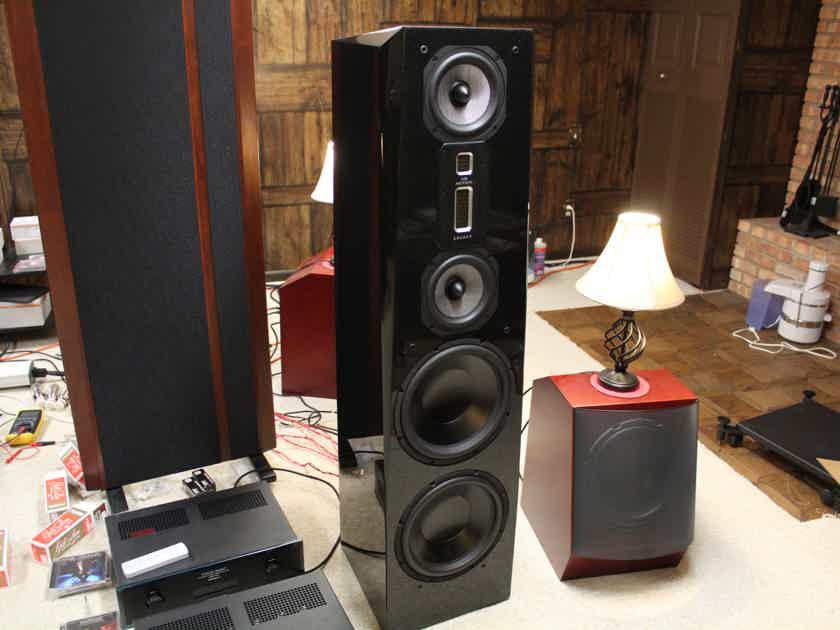 Legacy Audio Focus SE Speakers in Stunning Black Pearl