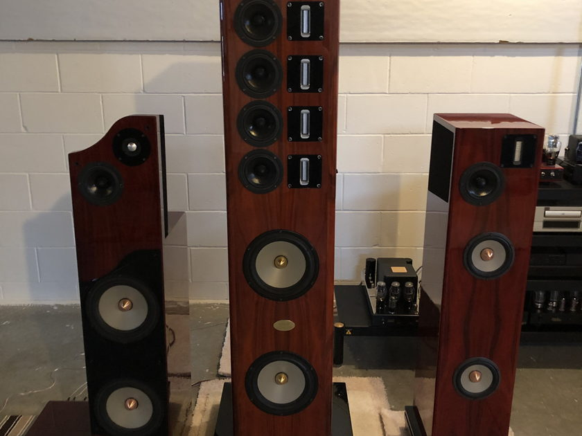 Nola Baby Grand Reference Gold Speakers