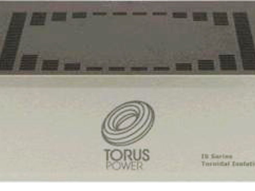 TORUS POWER IS 15 CS AC Conditioner (Silver): Mint Condition; Original Packaging; Demo Unit; Full Warranty; 40% Off Retail