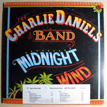 The Charlie Daniels Band - Midnight Wind 1977 NM Vinyl ...