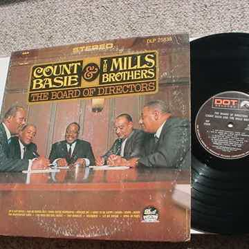 Count Basie & the Mills Brothers lp record the board of directors cover wear
