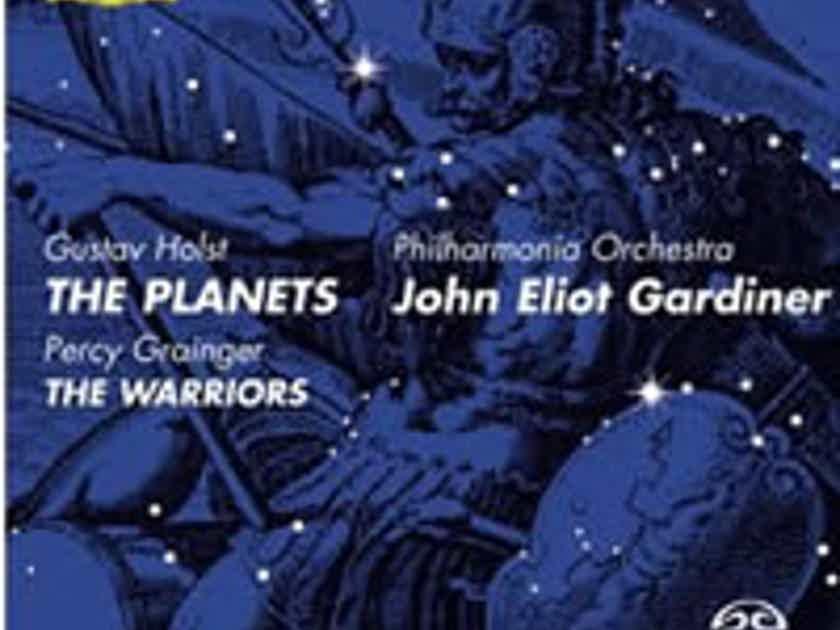 Holst: The Planets - Grainger: The Warriors - Gardiner SACD DG RARE OOP