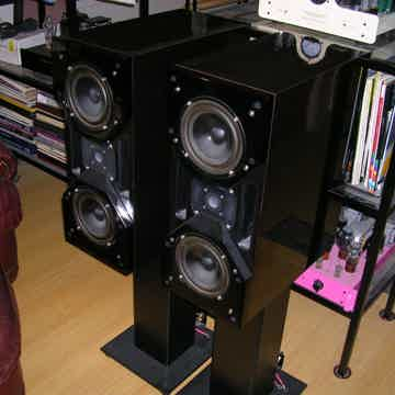 WILSON AUDIO CUBS.... SERIES 1.....GLOSS BLACK