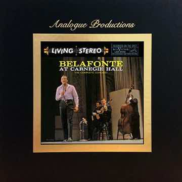 Harry Belafonte Belafonte  Belafonte at Carnegie Hall - 45RPM 5LP Box Set