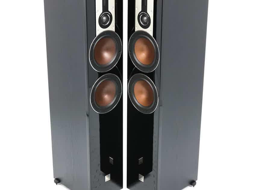 Dali Opticon 6 Floorstanding Speakers; Black Ash Pair (28548)