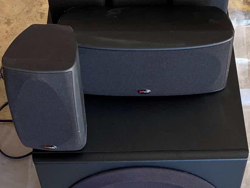 Polk Audio 5.1 Home Theater Speaker System RM6700+PSW350