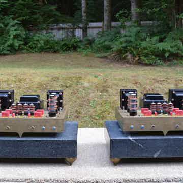Dynaco Based ST-70 Custom CNC Machined Brass Chassis Va...