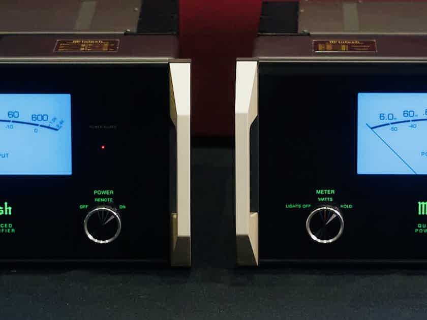 Pair of McIntosh MC-601 monobloc amplifiers