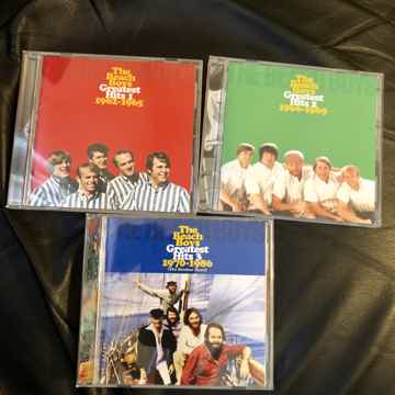 The Beach Boys Greatest Hits 1, 2 and 3 (TOCP-53634, TO...