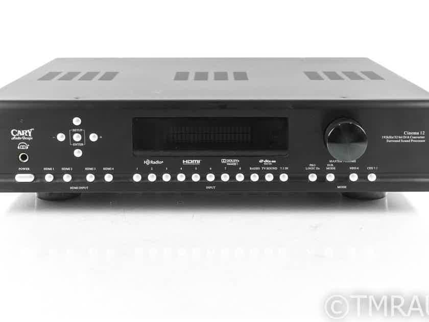 Cary Audio Cinema 12 HD 7.1 Channel Home Theater Processor; C12 HD (21142)