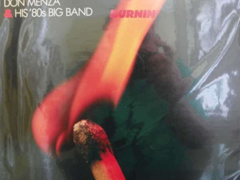 DON MENZA & HIS '80'S BIG BAND - BURNIN' DIGITAL RECORDING