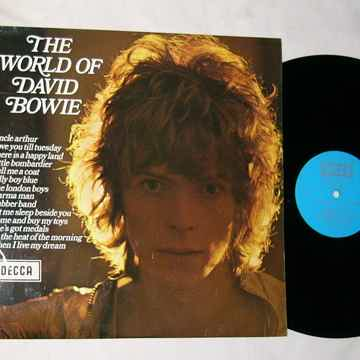 DAVID BOWIE LP-- - THE WORLD OF DAVID BOWIE-- mega rare...