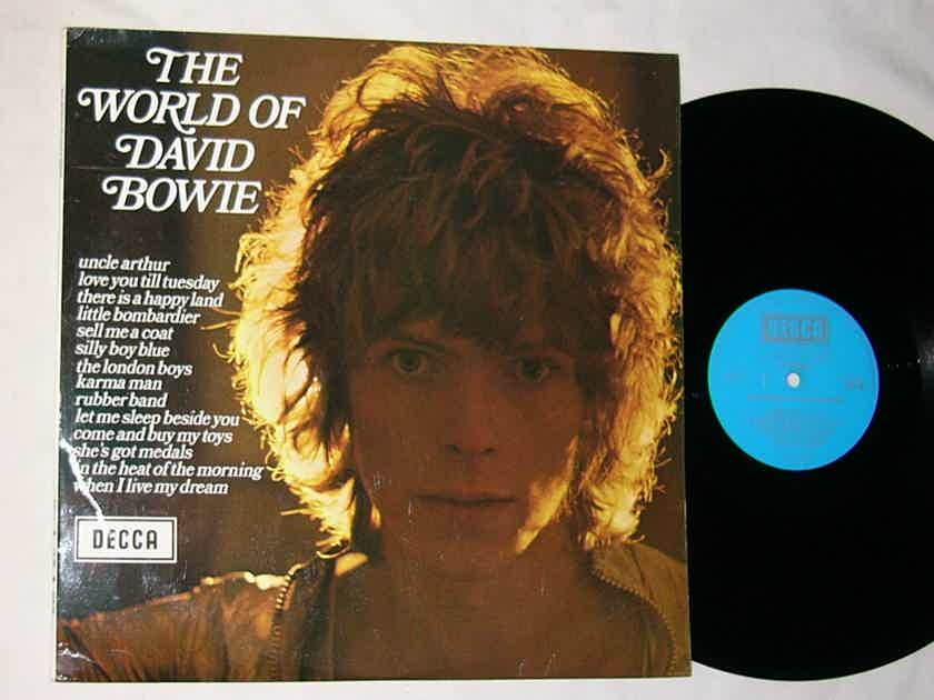 DAVID BOWIE LP-- - THE WORLD OF DAVID BOWIE-- mega rare 1970 album on DECCA ENGLAND