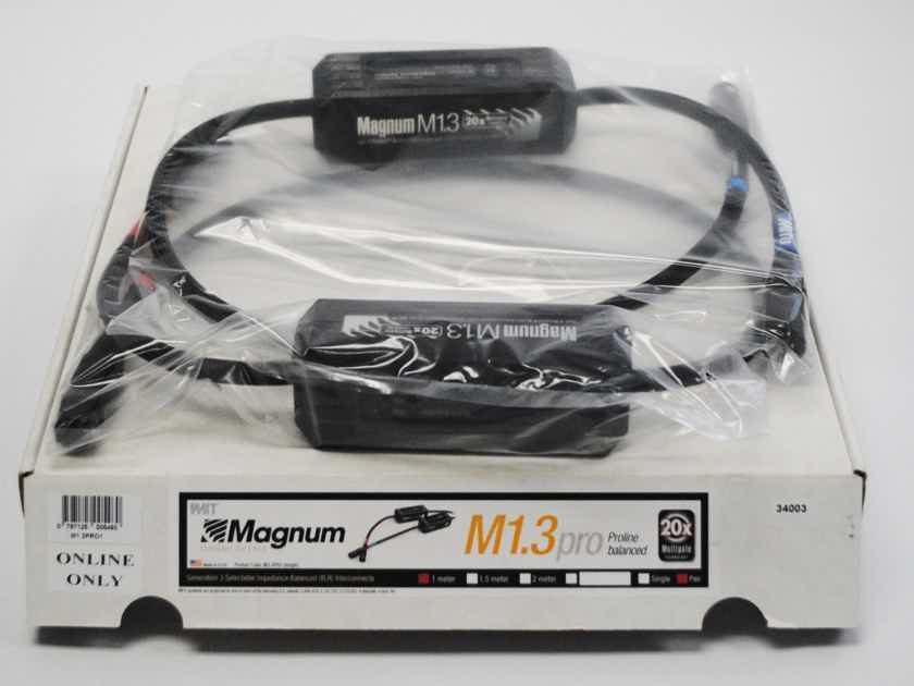 MIT Cables MAGNUM M1.3 RCA 1M PR, 2C3D, TRADE-IN, ORACLE-LEVEL PERFORMANCE