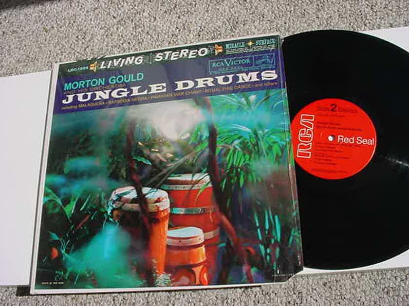 Morton Gould and his orchestra jungle drums lp record RCA LSC-1994