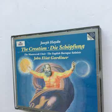 Joseph Haydn John Elliot Gardiner  The Creation die Schopfung Cd set Archiv 1996