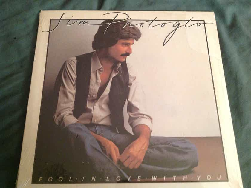 Jim Photoglo Fool In Love With You Sealed LP