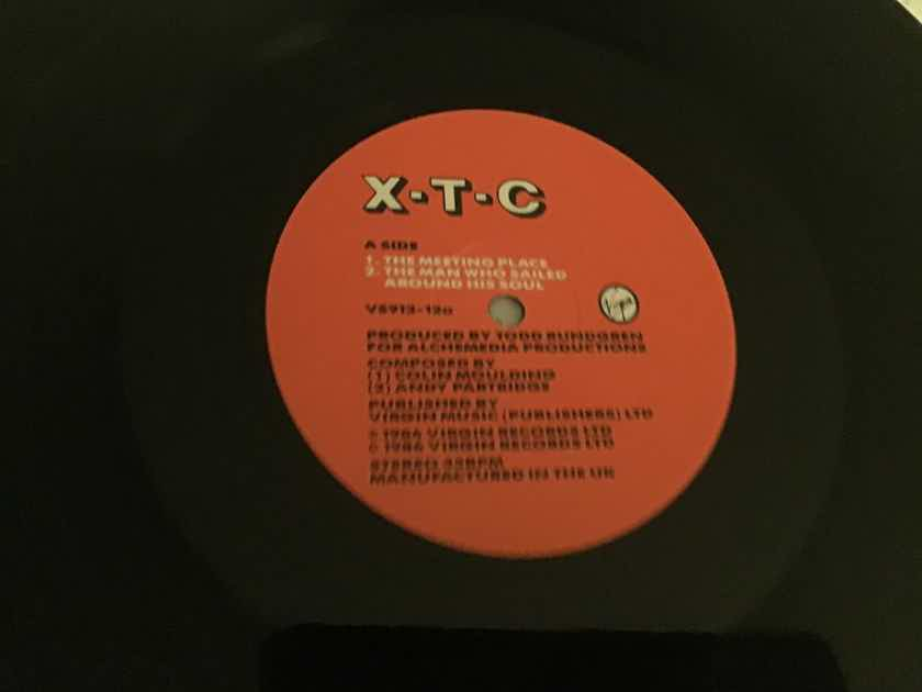 XTC  The Meeting Place UK 12 Inch With Home Demos Vinyl NM