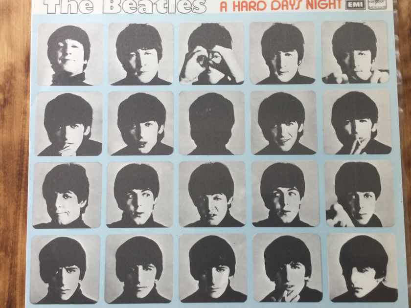 The Beatles - A Hard Day's Night Russian LP